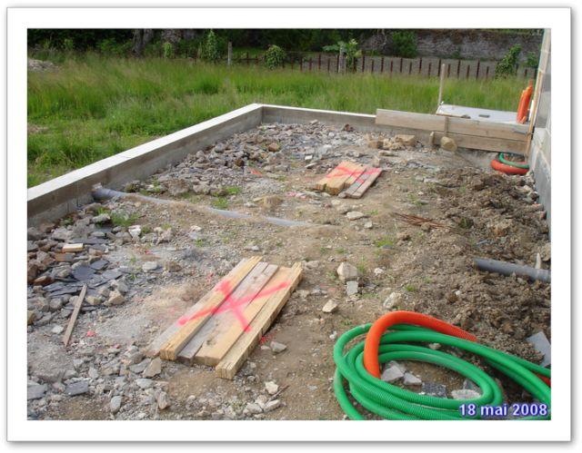 Locations entrammes - Preparation terrasse beton ...